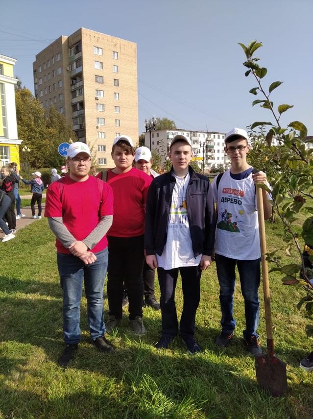 Акция «Наш лес. Посади свое дерево»., изображение №2