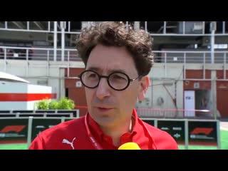 ГП Испании 2019. Бинотто (интервью)