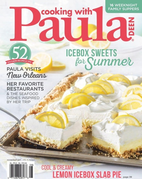 2019-07-01 Cooking with Paula Deen