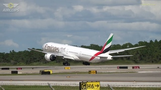 4K Orlando Airport Action! Loads of beautiful Takeoffs from the Runway! []