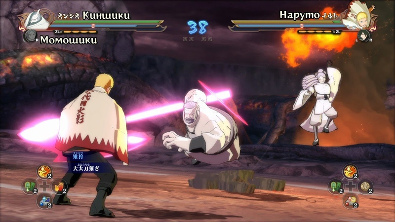 Момошики и Киншики DLC | Новые персонажи Naruto Shippuden Ultimate Ninja Storm 4 The Next Generation