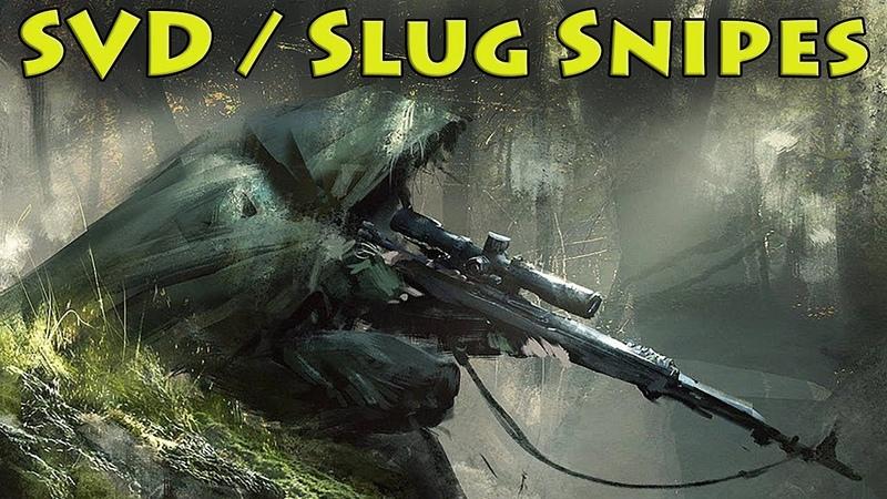 SVD Slug Snipes - Escape From Tarkov