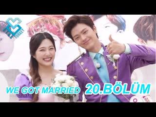 [Türkçe Altyazılı] We Got Married - Sungjae & Joy 20.Bölüm