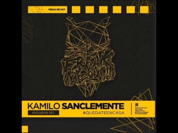 Kamilo Sanclemente Freak Me Out 2020 QUEDATEENCASA