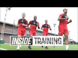 Inside training: five big returns and shooting practice from melwood