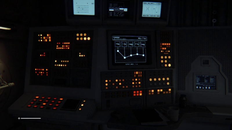 ASMR Alien Isolation Nap Time near a Computer Console Ambient Sounds NO Aliens Aboard