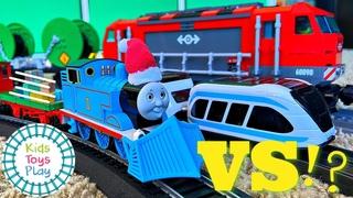 What's our Fastest Train? Bachmann HO vs LEGO vs Thomas Turbo Boost Trackmaster vs Intelino