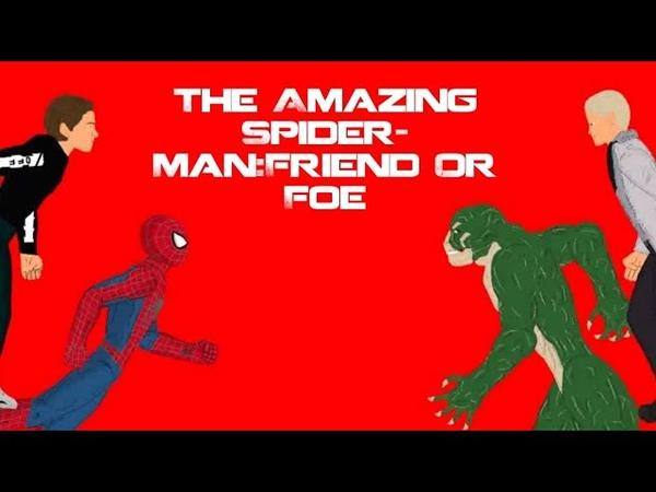 The Amazing Spider Man Friend Or Foe Удивительный Человек Паук Друг или Враг полнометражка