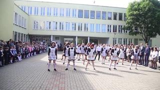 Танец выпускников гимназии №3 г.Солигорска. Последний звонок-2019