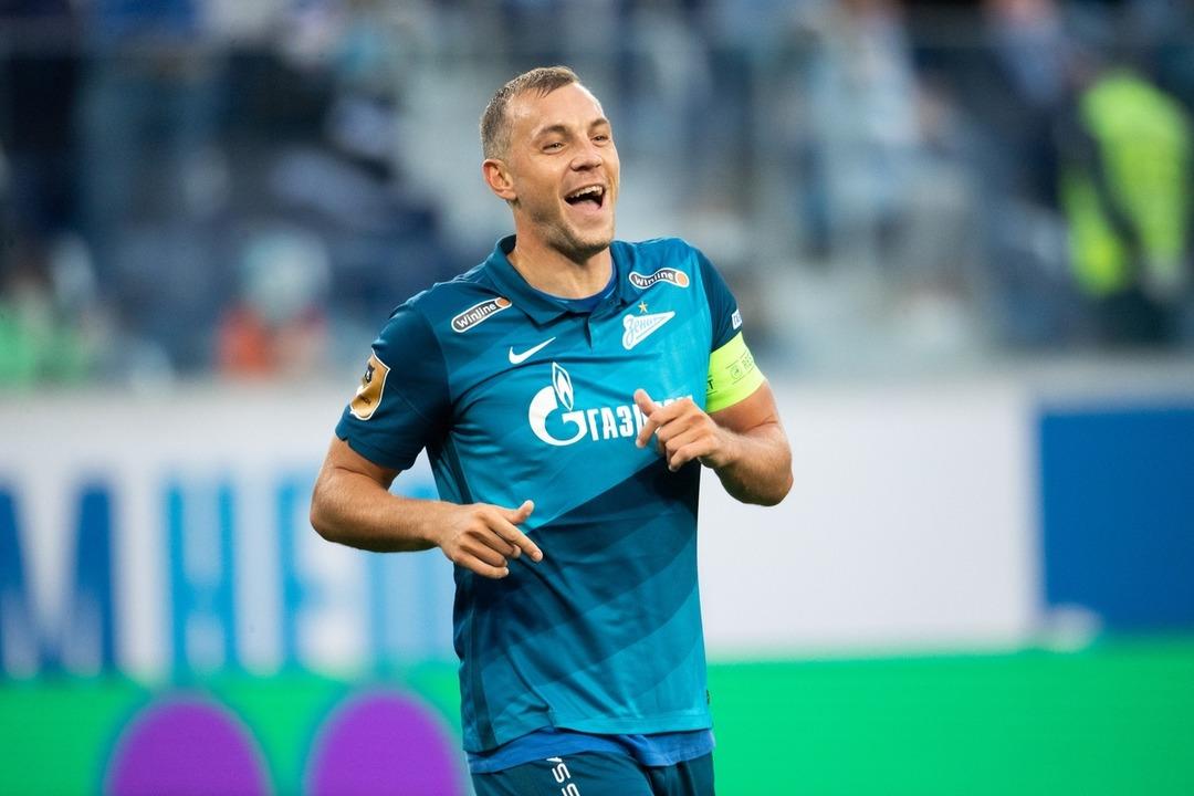 Зенит - Арсенал Тула, 3:1. Артем Дзюба