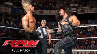 FULL MATCH - John Cena & Roman Reigns vs. Randy Orton, Seth Rollins & Kane: Raw, July 14, 2014