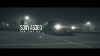 DJI Ronin M & Sony A6300 Low Light Video Test (4k Footage)