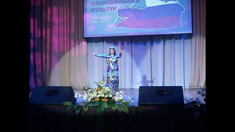 Алла Рыбаченко Таджикский танец