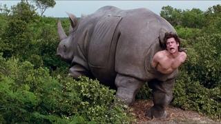 Носорог рожает человека. Эйс Вентура 2: Когда зовёт природа. 1995