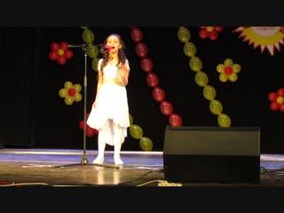 Выступление на фестивале ВОЛОГОДСКИЕ ДВОРИКИ Нелаева Кристина
