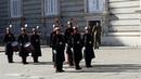 Misha's Day 51 Guard Сhanging at the Royal Palace in Madrid