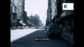 1960s Buenos Aires, Argentina, Street Scenes, Landmarks, Home Movies, 8mm