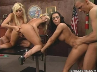 Rachel Starr, Eva Angelina, Puma Swede, Abbey Brooks 18+ (People vs. Pornstarslikeitbig)