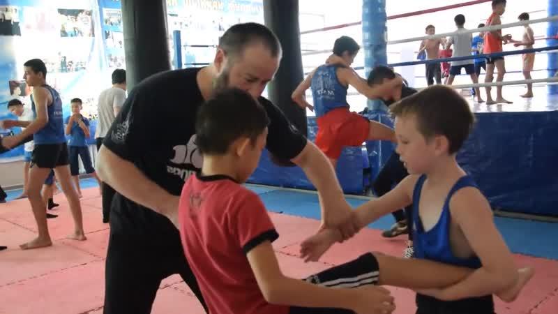Школа муайтай в Шымкенте Видео Салем Шымкент