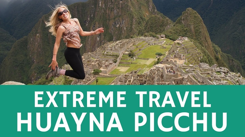 Extreme travel visiting the Inka trail of Huayna Picchu