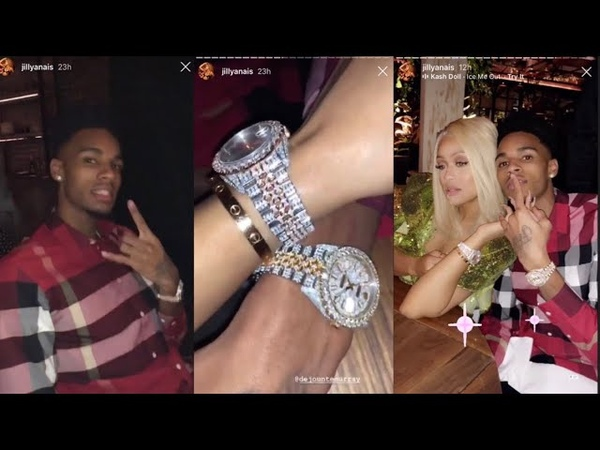 Dejounte Murray buys a $20 000 Rolex for Jilly Anais