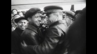 Новосибирск и Сибирь отмечают 20 лет Победы. Киножурнал Сибирь на экране, 1965 г.