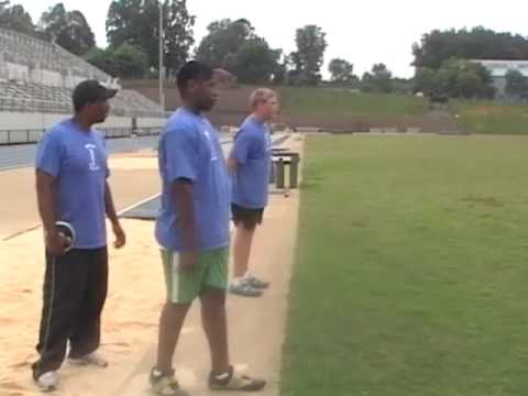 Shotput and Discus Drills with Produced By Higher Power AC