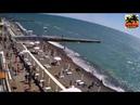 05 05 2021 Обстановка на пляжах Сочи Адлер Лазаревское Дагомыс Виртуальная прогулка\ Красная поляна