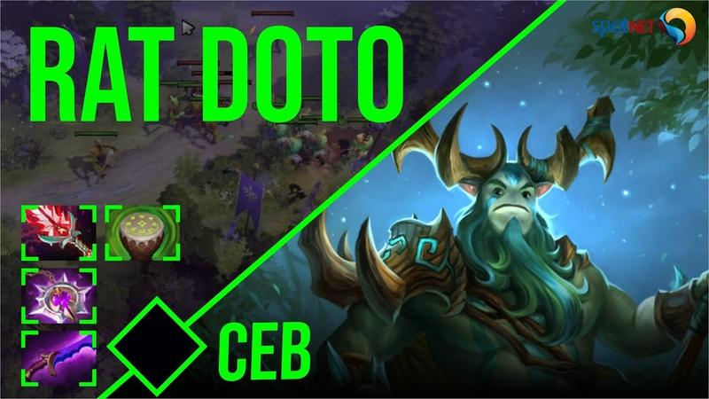 Ceb Nature's Prophet RAT DOTO Dota 2 Pro Players Gameplay Spotnet Dota 2