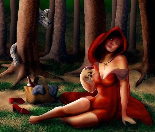 Приключения Красной Шапки - Он невероятен. Ах. Красная шапочка прикрыла глаза, смакуя вкус новинки из любимой пекарни Мамин космос. Нежный бисквит с пропиткой из сливового джема в облаке