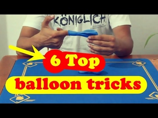 magic trick revealed *** 6 Top magic trick With balloon