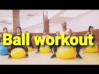 Ricky Martin - La Mordidita  new song 2018   fitness fit ball workout   by amit