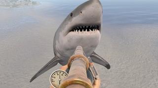 Rust - Акула, Подводное ружье, рыбалка!
