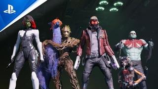 Marvel's Guardians of the Galaxy   Анонсирующий трейлер   PS5, PS4