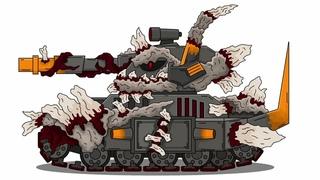 Как Нарисовать Танк МОРОК ПАРАЗИТ - Мультики про танки