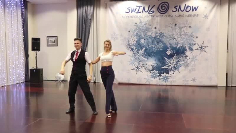 Rising Star Routines Winners — Иван Катрунов и Екатерина Авласевич | SwingSnow 2019