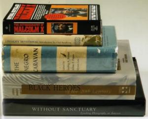 Книги об афроамериканской истории из собрания Майкла