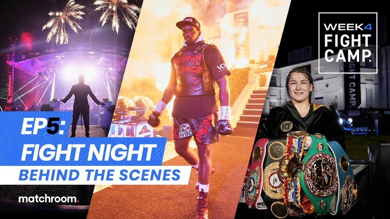 Fight Camp 4 Fight Night Whyte vs Povetkin Taylor vs Persoon 2 Behind The Scenes
