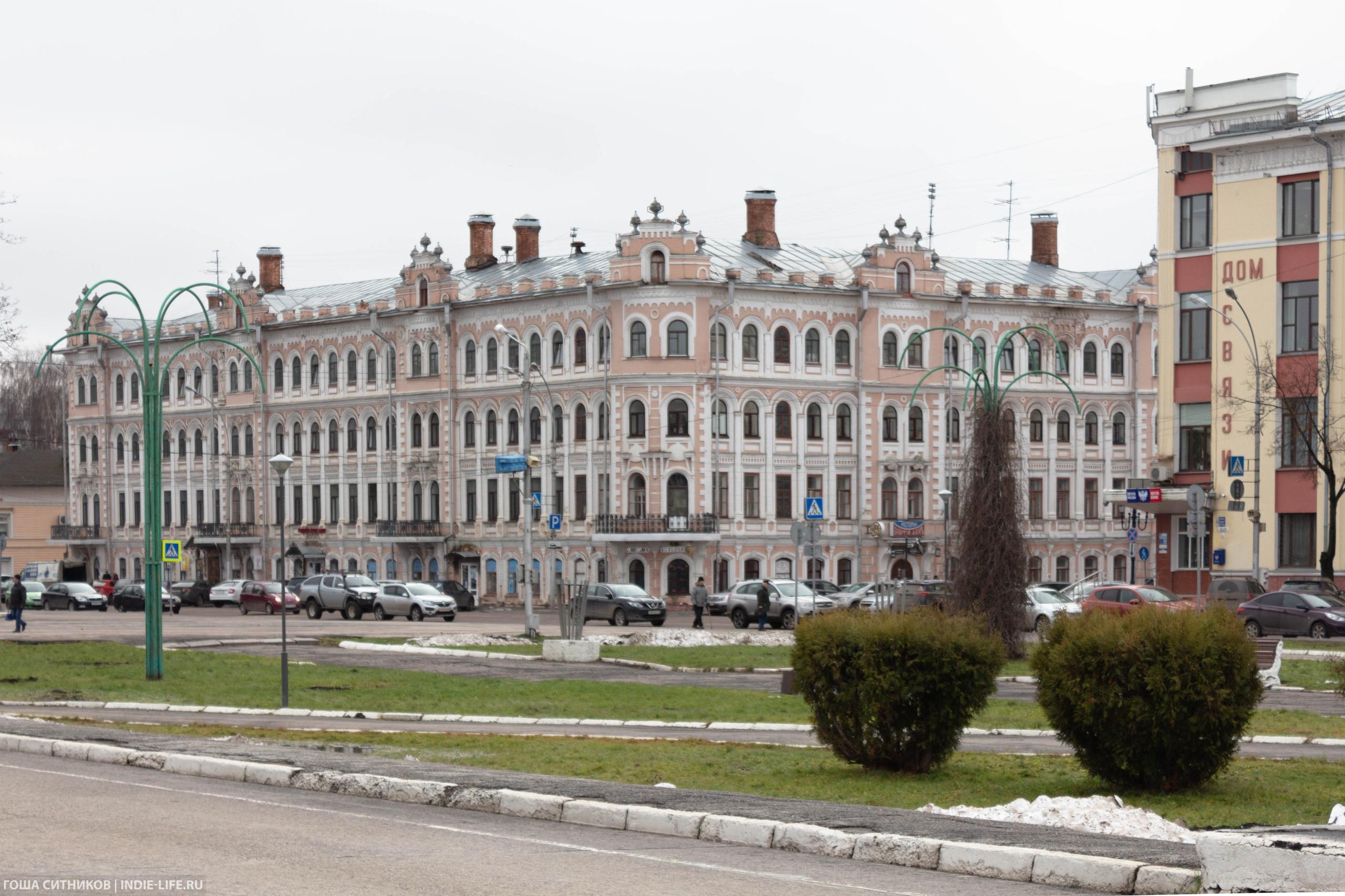Красивое здание 19 века