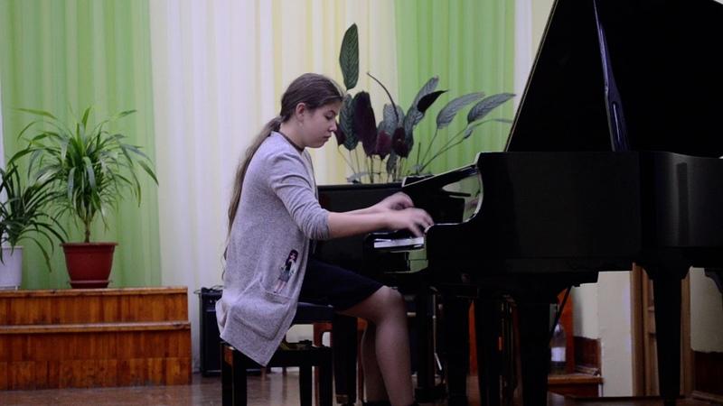 Павлова Ирина 11 лет Г Беренс Этюд