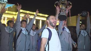 Скрытая камера: Кубок, дискотека в самолете и встреча в Пулково