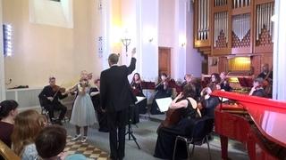 И.С.Бах, концерт E-dur (BWV 1042, I), Екатерина Слободина, Киров, 11 лет