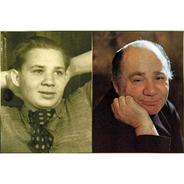 Как выглядели легендарные советские актеры в школьные годы. Часть 2... Всех узнали по детским фото .Спасибо за и