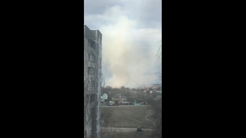 Пожар у барысаве