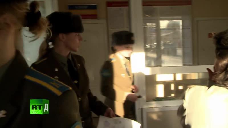 Женский батальон РГВВДКУ 18 серия