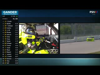 NASCAR Gander RV And Outdoors Truck Series 2020. Round 14. CarShield 200. Race Part 1