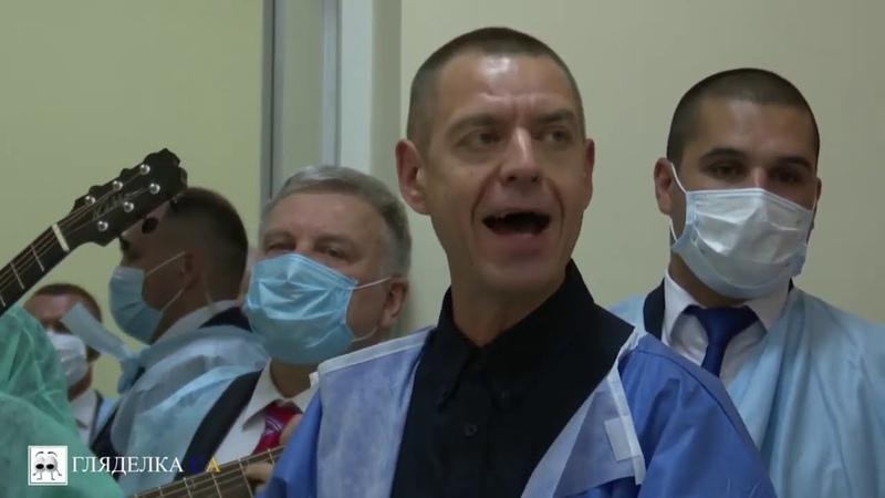Владимир и Елена Зеленские Сергей Михалок и Ляпис 98 поздравили раненых защитников Украины