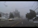 Take a drive in the Snow in Coos Bay OR/North Bend OR