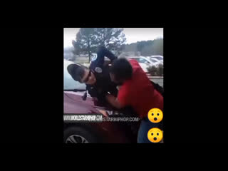 He Gonna Quit After This: Man Fights & Tases Officer During A Confrontation At A Shopping Plaza!