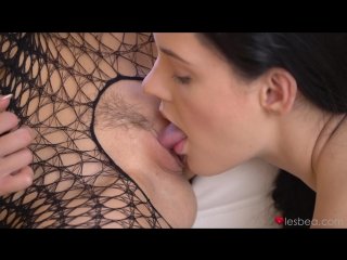 Anie Darling & Sybil Kailena - Babes in sexy lingerie and leotard [Lesbian, Teen, 1080p]